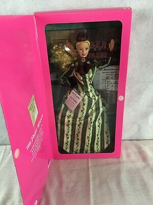 2000 BARBIE THE FRONT WINDOW Barbie Doll Mattel With Book NIB