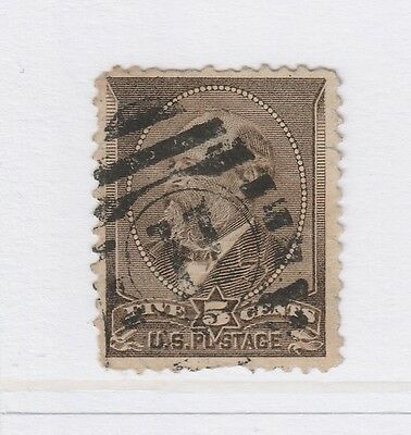 A3P18 United States 1882 5c used #8