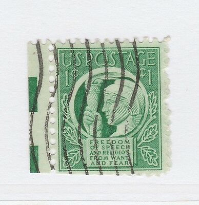 A3P18 United States 1943 1c used #56