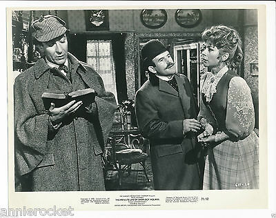 "The Private Life Of Sherlock Holmes-Blakely-Stevens-Page-8""X10"" Photo-486-#1971"