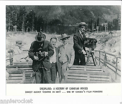 "Ernest Ouimet-Dreamland:A History of Canadian Movies 7 1/4"" X  9 1/4""-#651-1974"