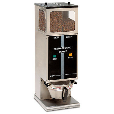 Curtis DHG-10 2 Hopper Commercial Portion Ctrl Coffee Grinder CALL 4 SHIPPING
