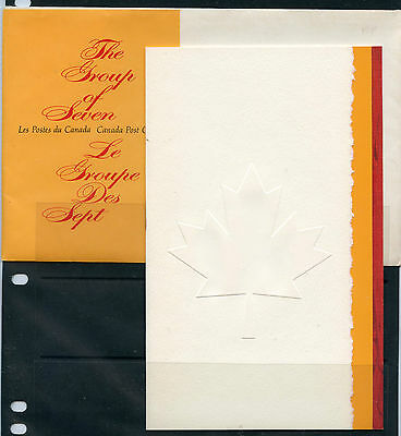 Weeda Canada Thematic Collection #3, 1970 The Group of Seven folder. CV $5