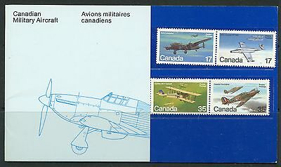 Weeda Canada Thematic Collection #16, 1980 Canadian Military Aircraft CV $5