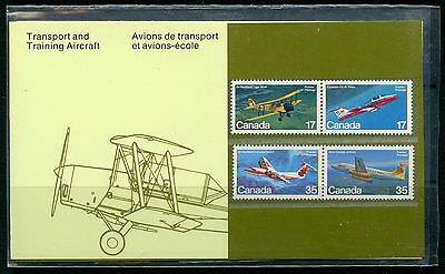 Weeda Canada Thematic Collection #18, 1982 Transport and Training Aircraft CV $5