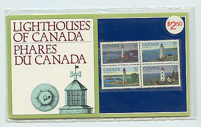 Weeda Canada Thematic Collection #28, 1984 Lighthouses of Canada folder CV $5