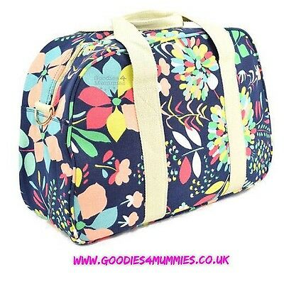 Dahlia Pre Packed Maternity Hospital Changing Mummy Bag With 19 Quality Items