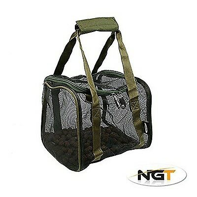 Deluxe Square Air Dry Boilie Bag With Hookbait Pouch