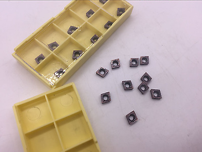 10×  CCMT060204-HM Lathe CNC Carbide Blades Insert for Turning Tool