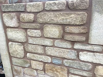 Yorkstone Walling Building Stone Random Coursed New Not Reclaimed Natural Stone