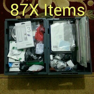 Job lots of mobile phones accessories. 87X Items in total.