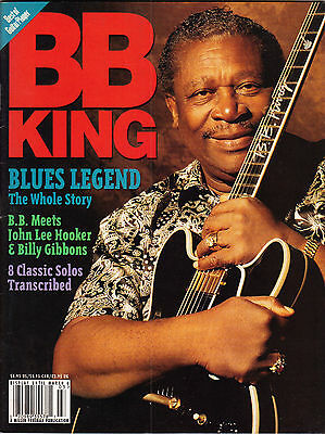 Best of Guitar Player Magazine BB KIng Blues Special March 1995 Lucille Tab Bio