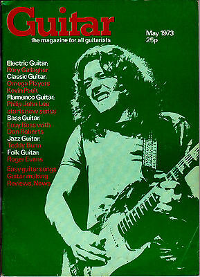 Guitar Magazine For All Guitarists UK May 1973 Rory Gallagher Kevin Peek RARE