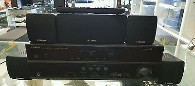Yamaha Rx-V373 Av Receiver With 5 Sorround Sound Speaker In Excellent Ocndition!
