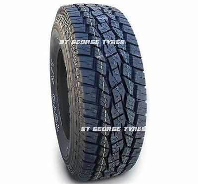 2X New 255-65-17 TOYO OPEN COUNTRY A/T TYRES  ALL TERRAIN 255/65R17 2556517