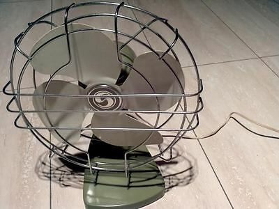 Vintage table Fan Electric superior works great