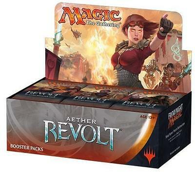 Aether Revolt Booster Box of 36 Booster Packs MTG FREE SHIPPING