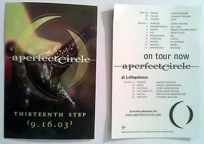 rare A PERFECT CIRCLE thirteenth step promo sticker (music asyrum)