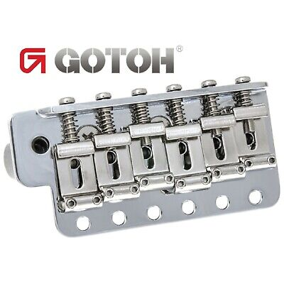 NEW Gotoh GE101TS Traditional Vintage Tremolo for Strat Steel Block - CHROME