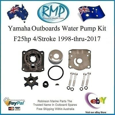 1 x New RMP Water Pump Kit Yamaha F25hp 4/Stroke 1998-2017 # R 61N-W0078-00 H