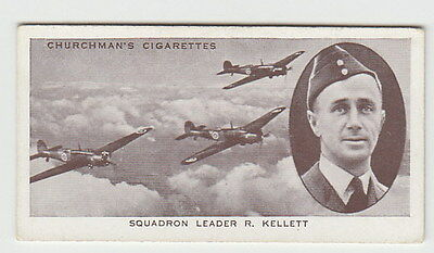 1939 Aviator Card of Richard Kellett Long Distance Record Royal Air Force WWII