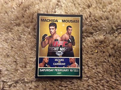 2014 UFC Champions Fight Review Poster Card UFN-36 Retail Only Machida