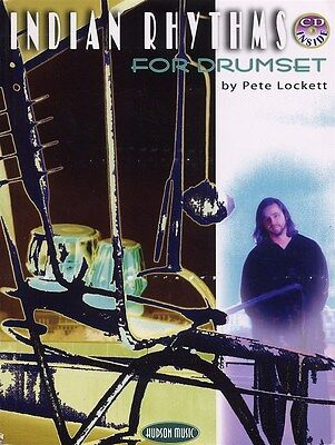 Pete Lockett: Indian Rhythms For Drumset (Book And CD). Sheet Music, CD