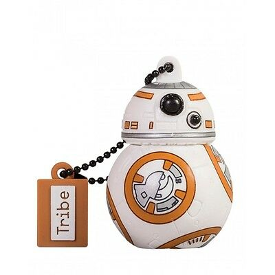 Tribe 16GB Star Wars BB-8 USB Flash Drive memory Stick Thumb Collectable New Uk
