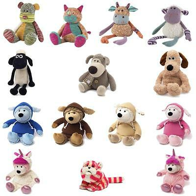 Warmies Heatable Soft Toy Plush Microwavable Gromit Shaun Sheep Boofle Bagpuss
