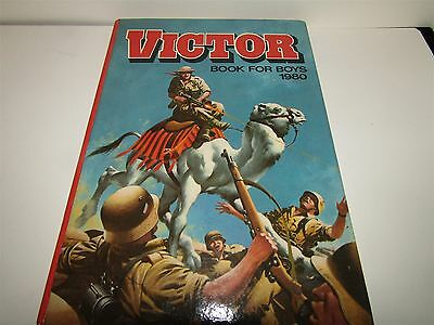 The Victor Book For Boys 1980 Annual