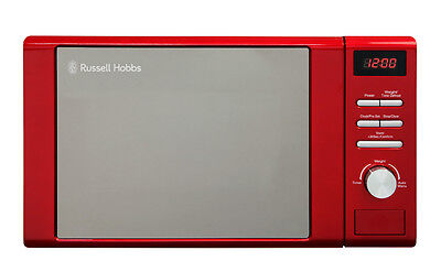 Russell Hobbs Legacy 20 litre RHM2064R Red Microwave 800w - 1 Year Warranty