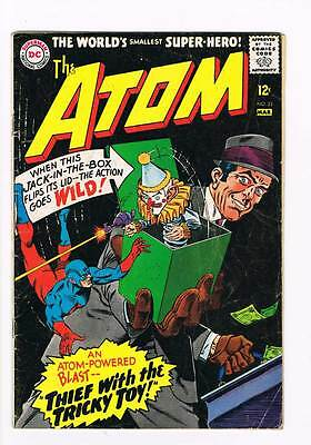 Atom # 23 Riddle of Far-Out Robbery! Kane cover grade 3.5 scarce hot book !!