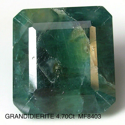 GRANDIDIERITE RARE GEMSTONE NATURAL MINED UNTREATED  4.70Ct  MF8403