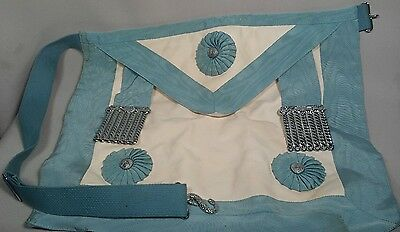 Vintage Masonic Lambskin Apron - Dominion Regalia - Freemason Gear