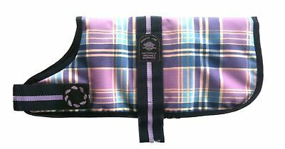 "Animate Dog Coat Waterproof - Lilac - 56cm (22"")"