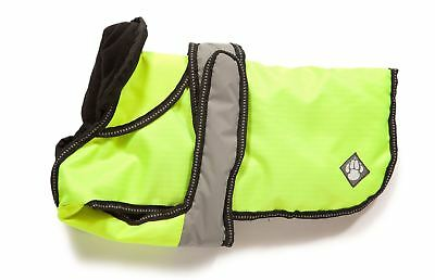 "Danish Design Dog Coat 2 in 1 - Hi Viz - 40cm (16"")"