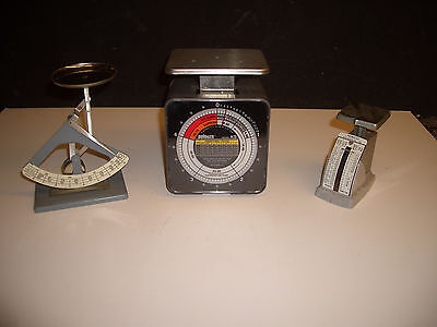 Lot of 3 Vintage Scale