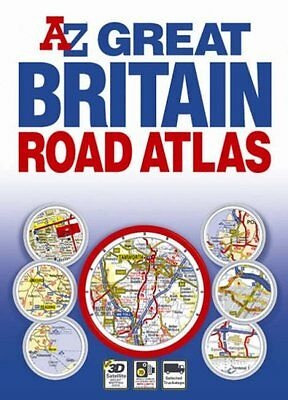 Great Britain Flexibound Road Atlas By Geographers' A-Z Map Company