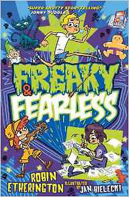 Freaky and Fearless: How to Tell a Tall Tale, New, Etherington, Robin Book