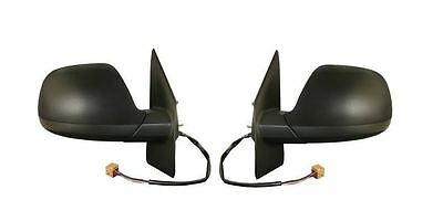 VW T5 Caravelle 2010-2016 Door Wing Mirror Electric Black Pair Left & Right