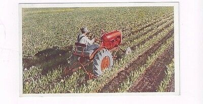 Antique Allis-Chalmers Post Card Allis-Chalmers Tractor Model B - View 2