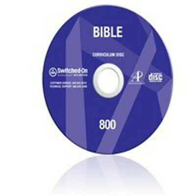 8th Grade SOS Bible Homeschool Curriculum CD Switched on Schoolhouse 8