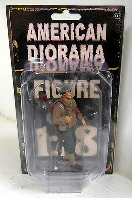 American Diorama 1/18 Scale Resin Figure 77410 WW2 USA Soldier Standing Military