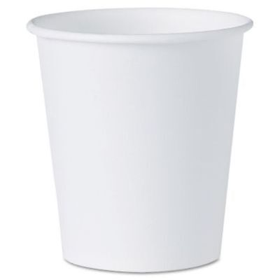 SOLO 3 oz Paper Water Cups, 100 Pack