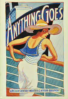 Anything Goes Original Broadway Souvenir Program - Patti Lupone