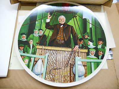 The Wonderful Wizard Of Oz Plate Bradex Knowles In Box With Certificate