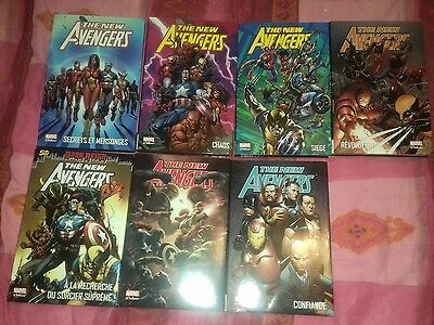 Marvel Deluxe -The  New Avengers Tome 1 A 7 Integrale Panini Comics