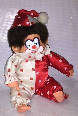 Corky Clown - Red & White Clothes - Valentine's Day