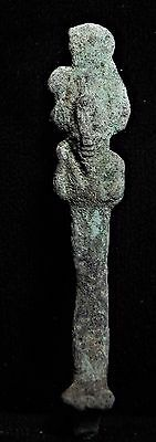 Zurqieh -  Ancient Egypt, Bronze Statue Of Osiris, 750 - 300 B.c
