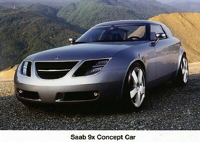 1990 Saab 9x Concept Car Factory Photo ca6202